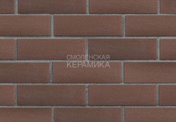 Клинкер фасадный ЛСР «Мюнхен» коричневый гладкий 3