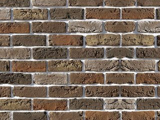 "309-60 White Hills ""Бремен брик"" (Bremen brick), коричневый, плоскостной, Нормативная ширина шва 1,2"