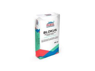 Клеевая смесь для газоблоков PEREL Blokus 0318 серая, 25 кг