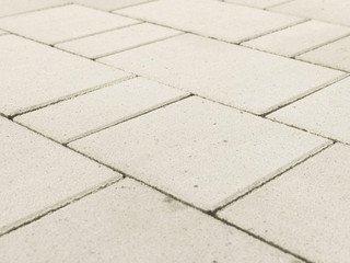 "Тротуарная плитка BRAER Старый город ""Ландхаус"", Белый, 80 мм"