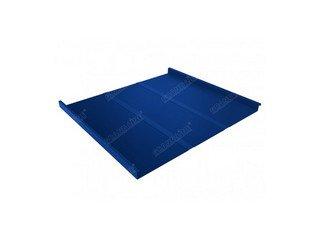 Grand Line Optima MatPe двойной стоячий фальц/Profi 0,5мм матовый синий