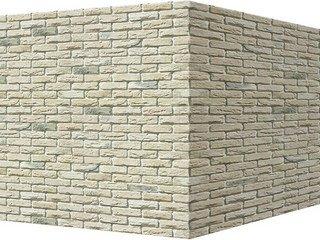 "305-15 White Hills ""Бремен брик"" (Bremen brick), бежевый, угловой, Нормативная ширина шва 1,2 см."
