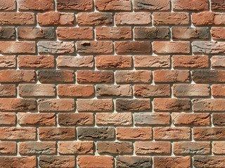 "306-50 White Hills ""Бремен брик"" (Bremen brick), темно-оранжевый, плоскостной, Нормативная ширина шв"