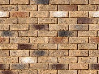 "324-40 White Hills ""Кельн брик"" (Cologne brick), коричневый, плоскостной, Нормативная ширина шва 1,2"