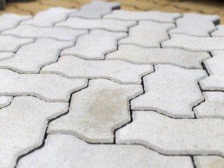 Тротуарная плитка Braer волна циркон 240х135х60