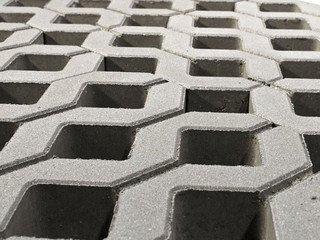 Газонная решетка BRAER «Меба» Серая