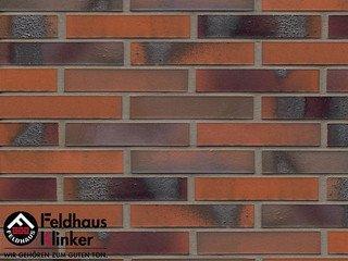 Фасадная плитка Feldhaus Klinker R562DF14* carbona terreno bluastro