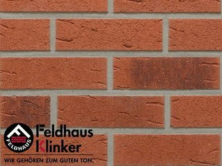 Плитка дляфасада Feldhaus Klinker R488NF9 terreno rustico carbo
