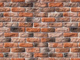 "316-50 White Hills ""Брюгге брик"" (Brugge brick), темно-оранжевый, плоскостной, Нормативная ширина шв"