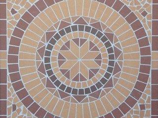 Round/Круг мозаика клинкерная (на сетке) Ecoclinker