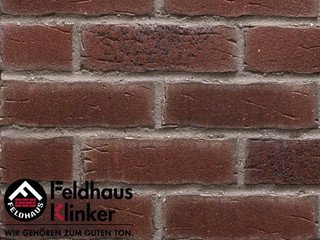Плитка клинкерная фасадная Feldhaus Klinker R664NF14