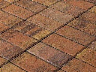 Тротуарная плитка BRAER Прямоугольник Color Mix Прайд, 40 мм