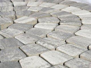 Тротуарная плитка BRAER Классико круговая, Грифельный