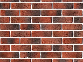"320-70 White Hills ""Кельн брик"" (Cologne brick), красный, плоскостной, Нормативная ширина шва 1,2 см"