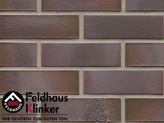 Плитка под кирпич Feldhaus Klinker R582NF14* salina terreno bluastro