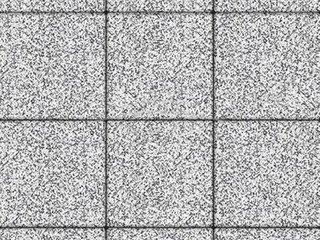 """Тротуарная плитка Выбор """"Стоунмикс"""", ЛА-ЛИНИЯ Бело-чёрный, 80 мм"""