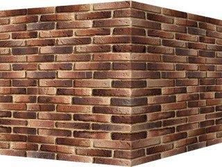 "338-45 White Hills ""Йорк брик"" (York brick), серый, угловой, Нормативная ширина шва 1 см."