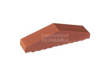 Профильный кирпич полнотелый King Klinker 310/250x65x78 рубиновый красный (01) 1
