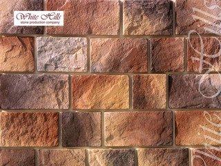 "410-40 White Hills ""Шинон"" (Chinon), коричневый, плоскостной, Нормативная ширина шва 1,5 см."