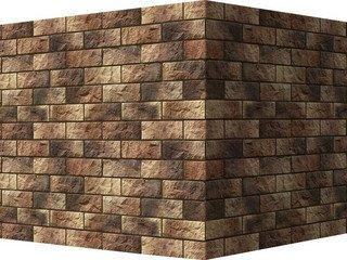 "406-45 White Hills ""Йоркшир"" (Yorkshire), коричнево-медный, угловой, Нормативная ширина шва 1,5 см."