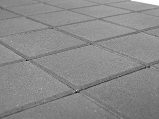Тротуарная плитка Braer лувр серый 200х200х60