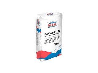 Цементная шпатлевка Perel Facade - b 0652 для финишной отделки, 20 кг белая