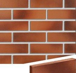Клинкерная плитка Darwin красно- коричневый гладкая Röben Угловая 71x240+115 толщина 14