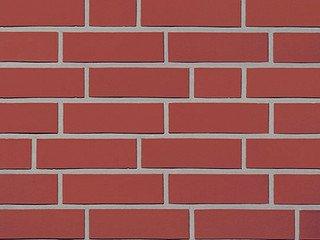 Кирпич клинкерный ROBEN MELBOURNE, красный натуральный гладкий NF