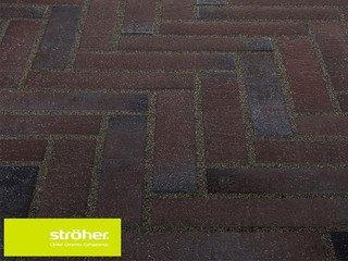 Клинкерная тротуарная плитка Stroher SPALTKLINKER Ригель 336 METALLIC SCHWARZ