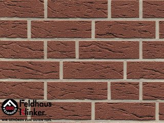 Клинкерный кирпич Feldhaus Klinker K535NF Terra mana