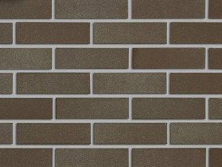 Клинкерная плитка - Perth коричневый гладкая Röben Рядовая 71x240 толщина 14