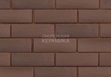 Клинкер фасадный ЛСР «Мюнхен» коричневый гладкий 4