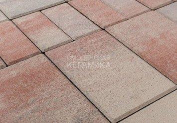 Тротуарная плитка BRAER Мозаика, Color Mix Фламинго 1