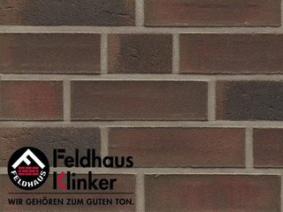 Клинкерная плитка Feldhaus Klinker R882NF9* baro ardor carbo