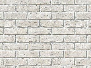 "375-00 White Hills ""Сити Брик"" (Сity brick), белый, плоскостной, Нормативная ширина шва 1,2 см."