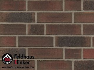 Плитка под кирпич Feldhaus Klinker R882NF14 baro ardor carbo
