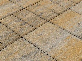 Тротуарная плитка BRAER Мозаика, Color Mix Песчаник