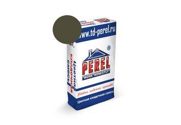 Цветная кладочная смесь Perel SL 5015 темно-серая, 50 кг 1