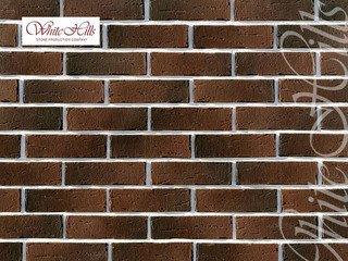 "379-40 White Hills ""Сити Брик"" (Сity brick), коричнево-серый, плоскостной, Нормативная ширина шва 1,"
