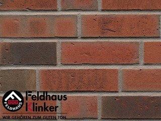 Плитка дляфасада Feldhaus Klinker R752NF14 vascu ardor carbo