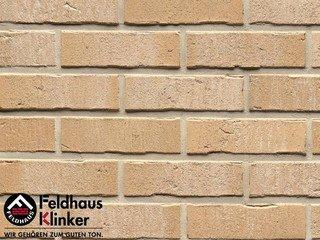 Плитка дляфасада Feldhaus Klinker R733NF14 vascu crema pandra