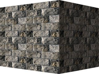 "431-85 White Hills ""Шеффилд"" (Sheffield), светло-серый, угловой, Нормативная ширина шва 1,5 см."