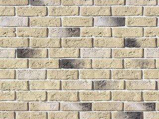 "320-10 Декоративный камень White Hills ""Кельн брик"" (Cologne brick), бежевый, плоскостной, Нормативн"