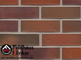 Плитка дляфасада Feldhaus Klinker R714NF14* accudo carmesi bluastro