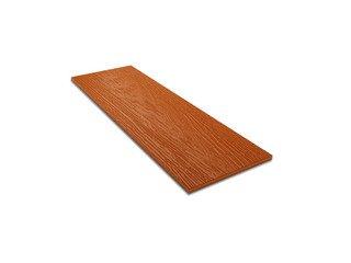 Фибросайдинг DECOVER 1800 Terracotta дерево