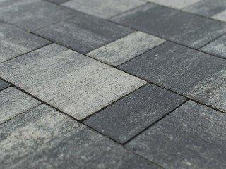 Тротуарная плитка Braer Старый город Ландхаус Color Mix Туман 60
