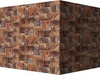 "420-45 White Hills ""Девон"" (Devon), коричневый, угловой, Нормативная ширина шва 1,5 см."