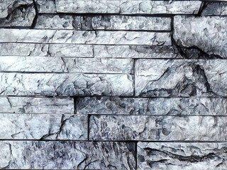 """Декоративный камень Polinka """"Сланец Карпатский"""", серый, угловой"""