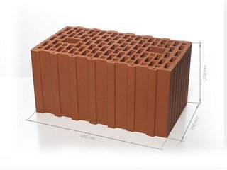 Керамический блок 44 BRAER Ceramic Thermo 12,4 NF