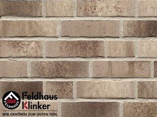 Клинкерный кирпич Feldhaus Klinker K773DF Vascu argo antrablanca